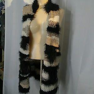 Free People Furry vest